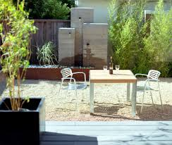 Modern Water Features Pondless Water Features Patio Modern With Stacking Chair Rock