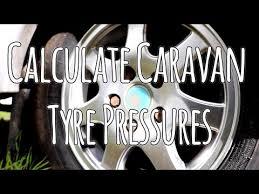 Calculate Your Caravan Tyre Pressures