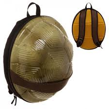 teenage mutant ninja turtles molded shell backpack