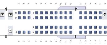Crj 200 Seating Chart Delta Bombardier Crj700 Seating Chart Flyradius