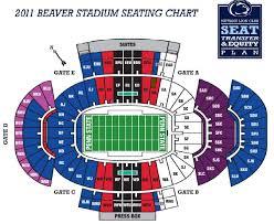 Beaver Stadium Seating Chart Efficient Beaver Stadium Seating Chart Row Numbers 2019