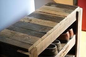 diy pallet shoe rack. Upcycled Pallet Shoes Shelf Diy Shoe Rack K