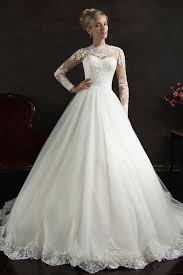 newest tulle lace white princess wedding dress 2016 court train