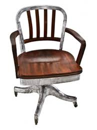 industrial office chair. 1940\u0027s Vintage Industrial Wood Slat Back Aluminum Factory Office Chair · Save