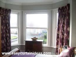 Bay Window Curtain Rails