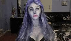 corpse bride emily makeup tutorial halloween holiday tim burton film director