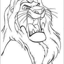 Small Picture Simba and uncle scar coloring pages Hellokidscom