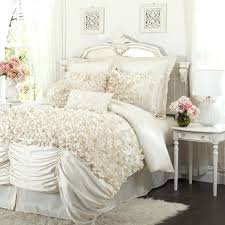 romantic bedding set puff for the home shabby chic comforters dream and design romance