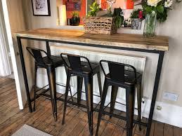 Industrial Kitchen Bar Stools
