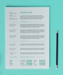Clean Resume Template Resume Cover Letter Template