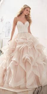 peach wedding dress. 27 Peach Blush Wedding Dresses You Must See Gowns Pinterest