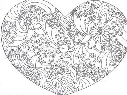 Small Picture Heart Coloring Pages Geometric Coloring Coloring Coloring Pages