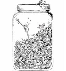 Small Picture doodle invasion Coloring pages for adults Printables and