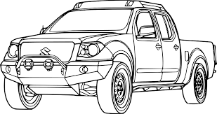 Dessin Coloriage Voiture 4 4 Duster