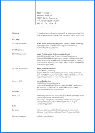 8 Cv Englisch Muster Business Template