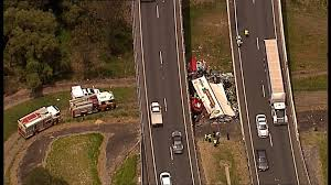 Logan Motorway truck crash: Truck driver may have lay in wreckage ...
