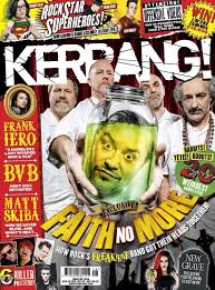 Kerrang Official Rock Chart Faith No More On Cover Of New Issue Of Kerrang And On Rock
