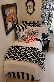 monogram comforter sets black and red designer bed in a bag for dorm apartment 8