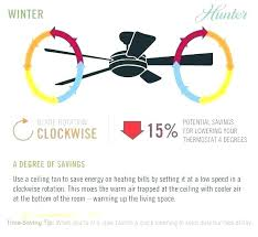 ceiling fans direction for summer hunter fan winter org