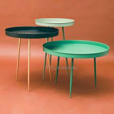 orange outdoor side table small metal retro patio white round folding tables for kijiji