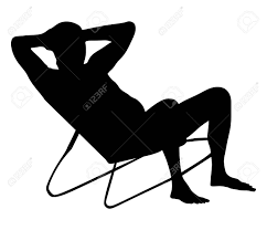 back of beach chair silhouette. Retired Old Man On Vacation Sitting In Beach Chair, Vector Silhouette Illustration. Senior Back Of Chair