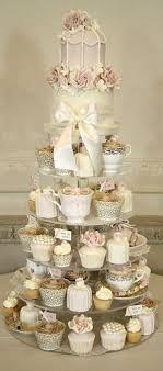 antique wedding cakes. wedding-cake-alternatives-cupcake-tower-vintage-inspired-cupcake- antique wedding cakes