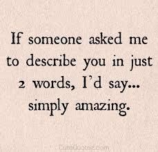 Romantic Saying