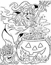 Halloween Speciale Dagen Kleurplaat Animaatjesnl