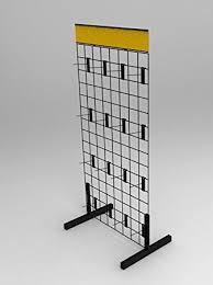 Fixture Displays Wire Gridwall Display Rack 11051 11051