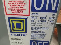 square d pq4603g 30 amp 600 volt bus plug 3 pole 4 wire 30 amp 600 volt bus plug 3 pole 4