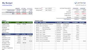 Budget Layout Excel Weekly Budget Planner And Money Manager