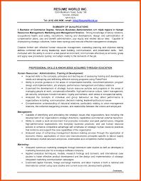 Entry Level Marketing Resume Resume Work Template