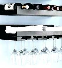 wall mounted wine and glass rack wall mounted stemware rack wall mounted wine glass shelves building