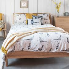 pheasant and acorn duvet set loading zoom
