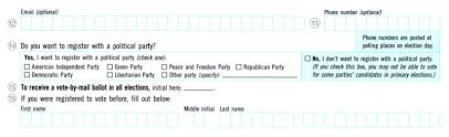 How To Make Ballots On Microsoft Word Are You An Independent Voter You Arent If You Checked This