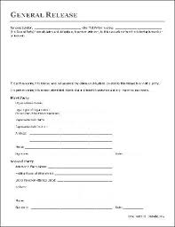 Basic Liability Waiver Form Unique Free Basic Release Form Organization To AttorneyinFact From