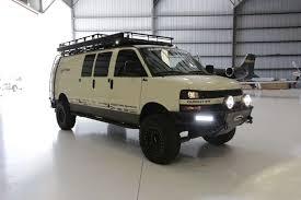 Chevrolet Express 4x4 Coilover Suspension - WeldTec Designs