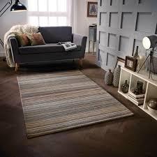 diy modern striped rugs small