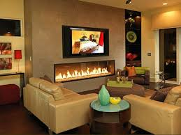 Small Picture flat screen tv and fireplace in living room ideas Fireplace On