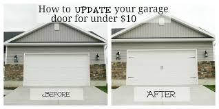 garr den of love garage door makeover