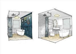 bathroom interior design sketches. Bathroom Interior Design Sketches E