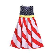American Princess Size Chart Amazon Com Titcool 4th Of July Little Girls American Flag