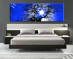 1 piece blue canvas scenery wall art 1 piece wall art bedroom large picture sunrise large on large multi panel canvas wall art with 1 piece blue canvas scenery wall art 1 piece wall art bedroom large