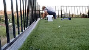artificial turf installation a diy