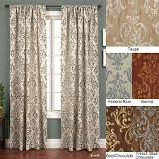 roman crinkle jacquard 108 inch curtain panel ping great deals on