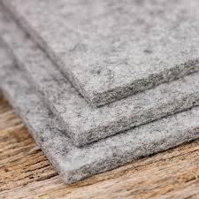 felt placemats rectangle  x  cm gray mixed  felt