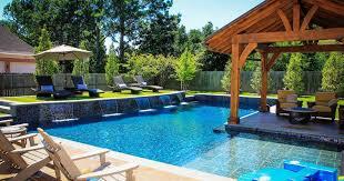 backyard swimming pool design. Elegant Backyard Inground Pool Ideas Designs Swimming Design O