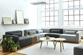 gus modern jane loft bi sectional sofa carter hull coffee table gus modern wireframe coffee table