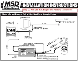 msd 6a wiring diagram msd image wiring diagram msd tach wiring jeep msd wiring diagrams on msd 6a wiring diagram