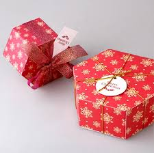 Decorative Cookie Boxes Aliexpress Buy Free shipping Christmas red snowflake apple 73